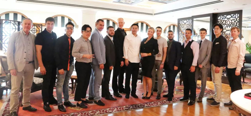 UTON系列产品国际市场推广会在新加坡洲际酒店举行